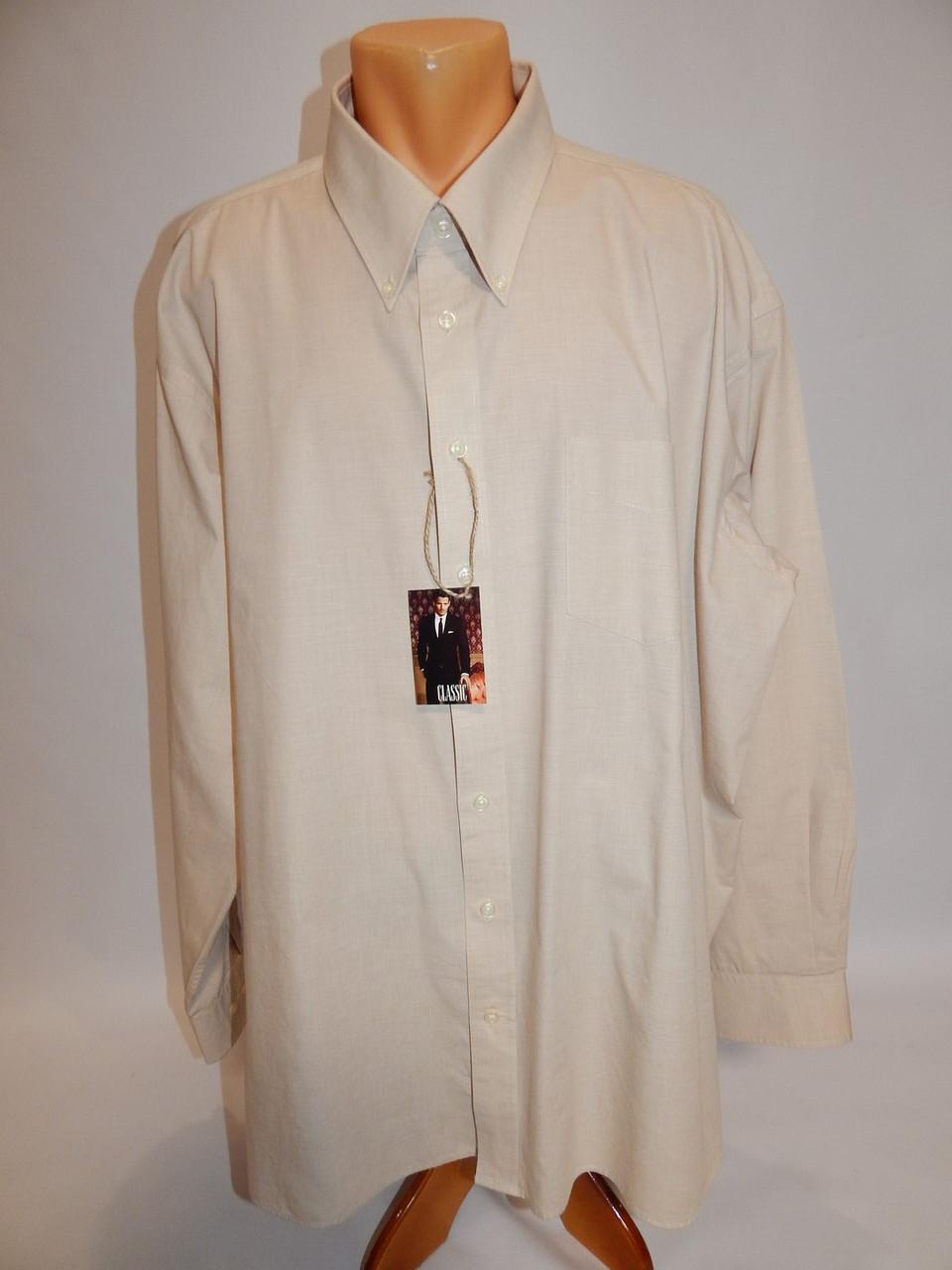 Мужская рубашка с длинным рукавом CANDA 074ДР р.58