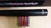Фонарь E-SMART baseball bat (Черный) ручной светодиодный с битой для самообороны