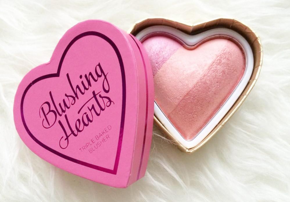 Хайлайтер румяна I Heart Makeup Hearts Blusher Candy Queen of Hearts