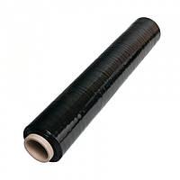 Стрейч черный 20мкм*500мм*300м, 3,2 кг