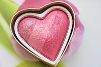 Хайлайтер румяна I Heart Makeup Hearts Blusher Blushing Heart