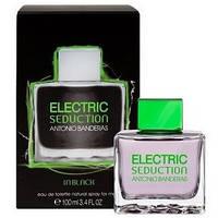 Туалетная вода мужская Banderas Electric Seduction In Black (Электрик Седакшн Блек), 100 ml