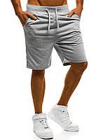 Мужские шорты серые