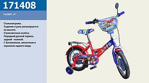 Детский велосипед размер 14 дюйм модель 171408