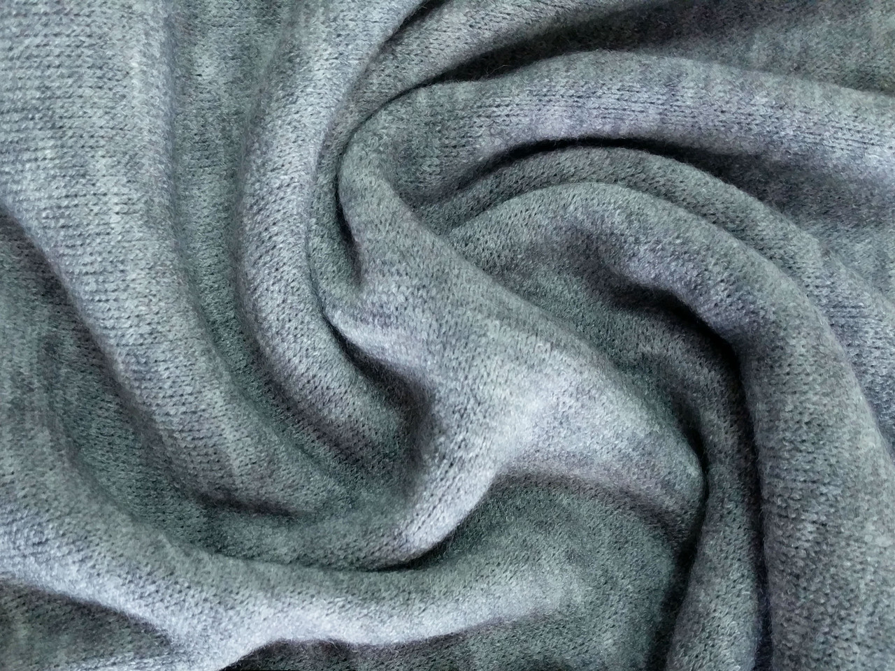 Ангора Арктика, серый меланжевый