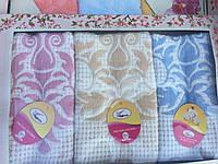 Набор кухонных полотенец лен