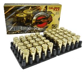 Патрон холостой пистолетный 9мм Zuber (23241)
