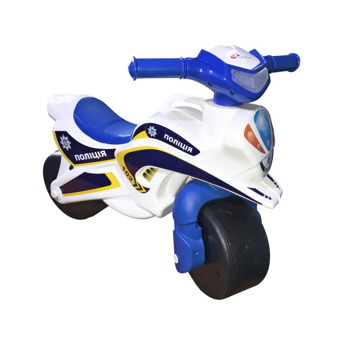 Мотобайк Поліція мотоцикл Фламінго 0139, музичний
