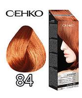 C:EHKO Крем-краска для волос №84 янтар