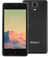 """Смартфон Doogee Doopro P4 1/8Gb Black, Gray, 5/2Мп, 4.5"""" IPS, 3200mAh, 2sim, MT6580, 4 ядра, 3G, фото 1"""