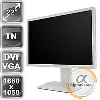 """Монитор 22"""" Acer B223W (TN/DVI/VGA/колонки) white class B БУ"""