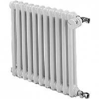 Дизайн-радиатор  ARDESIA  (18 секций)  H=556 мм (междуосева  500 мм)  3 колоны  (белый)  Δt50=1096 W