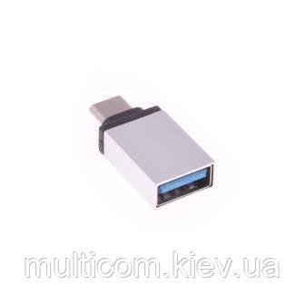 04-00-012. Адаптер OTG (штекер USB type C - гнездо USB 3.0), (UP10124)