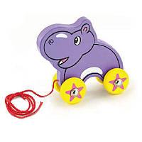 Іграшка-каталка Бегемот Viga toys (50092)