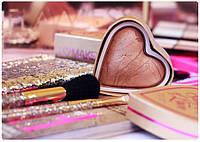 Хайлайтер I Heart Revolution (сердечки, жидкий хайлайтер, кремовый, рассыпчастый )