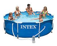 Каркасный бассейн Intex 28202 с фильтр-насосом, фото 1