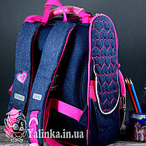 Рюкзак каркасный Hearts blue 555208 YES, фото 3