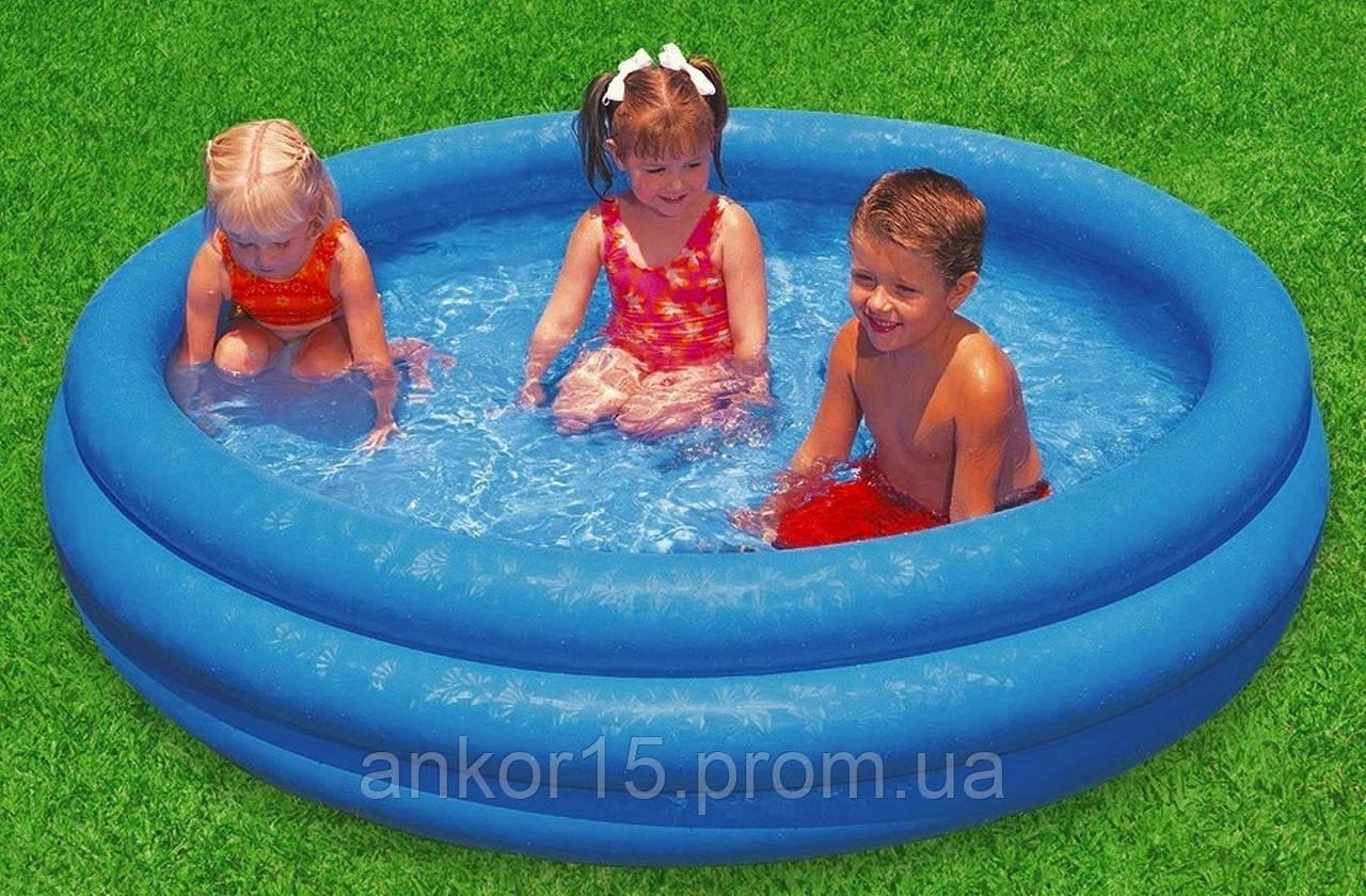 Детский надувной бассейн Intex 59416, 114 х 25 см