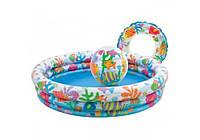 Intex 59469, надувной детский бассейн с набором