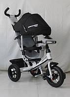 Детский трехколесный велосипед  Crosser T1 AIR, черный