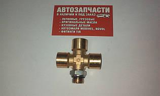 Фитинг пневматический грузовой крестообразный (Четверник) М 16 Camozzi