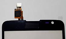 Сенсор (тачскрін) для LG D685 G Pro Lite Dual, D686 G Pro Lite Dual, чорний, фото 3