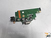 Плата медіа кнопок, ethernet порт, VGA порт для ноутбука HP Probook 6560B, б/в
