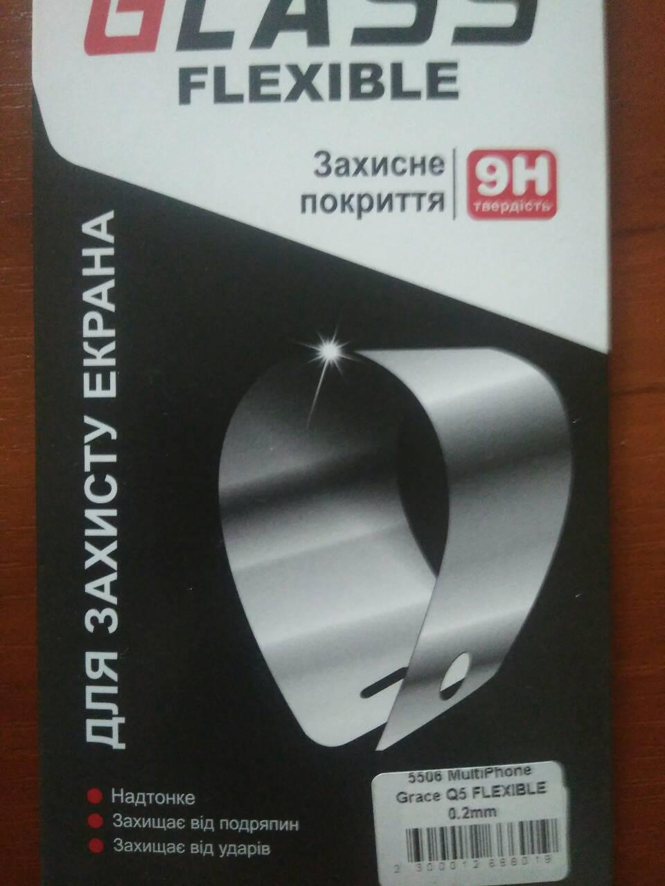 Защитное стекло Prestigio 5508  Grace Q5 (flexible)