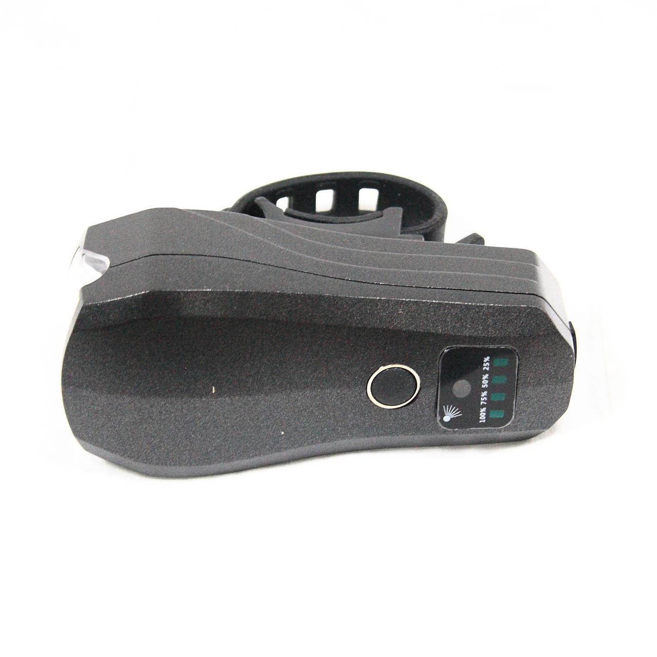 Фара с зарядкой под USB, модель 3599 (GA-21), черный