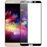 Закаленное защитное 5D стекло ПОЛНАЯ ПРОКЛЕЙКА (на весь экран) для Huawei Mate 10 Pro