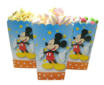 Коробочки для сладостей Микки Маус 5 штук