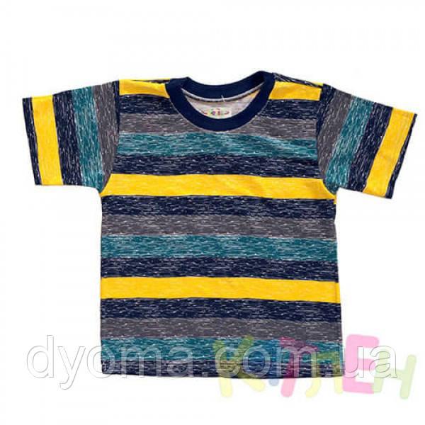 """Детская футболка """"Полоска"""" для мальчиков"""