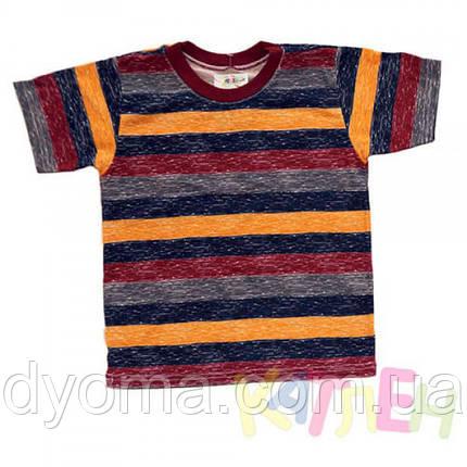 """Детская футболка """"Полоска"""" для мальчиков, фото 2"""