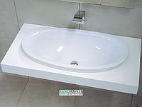 Раковина для ванной накладная Flaminia коллекция IO белая IO4275