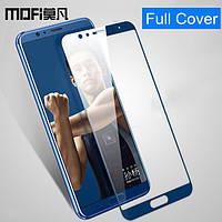Закаленное защитное 5D стекло ПОЛНАЯ ПРОКЛЕЙКА (на весь экран) для Huawei Honor V10