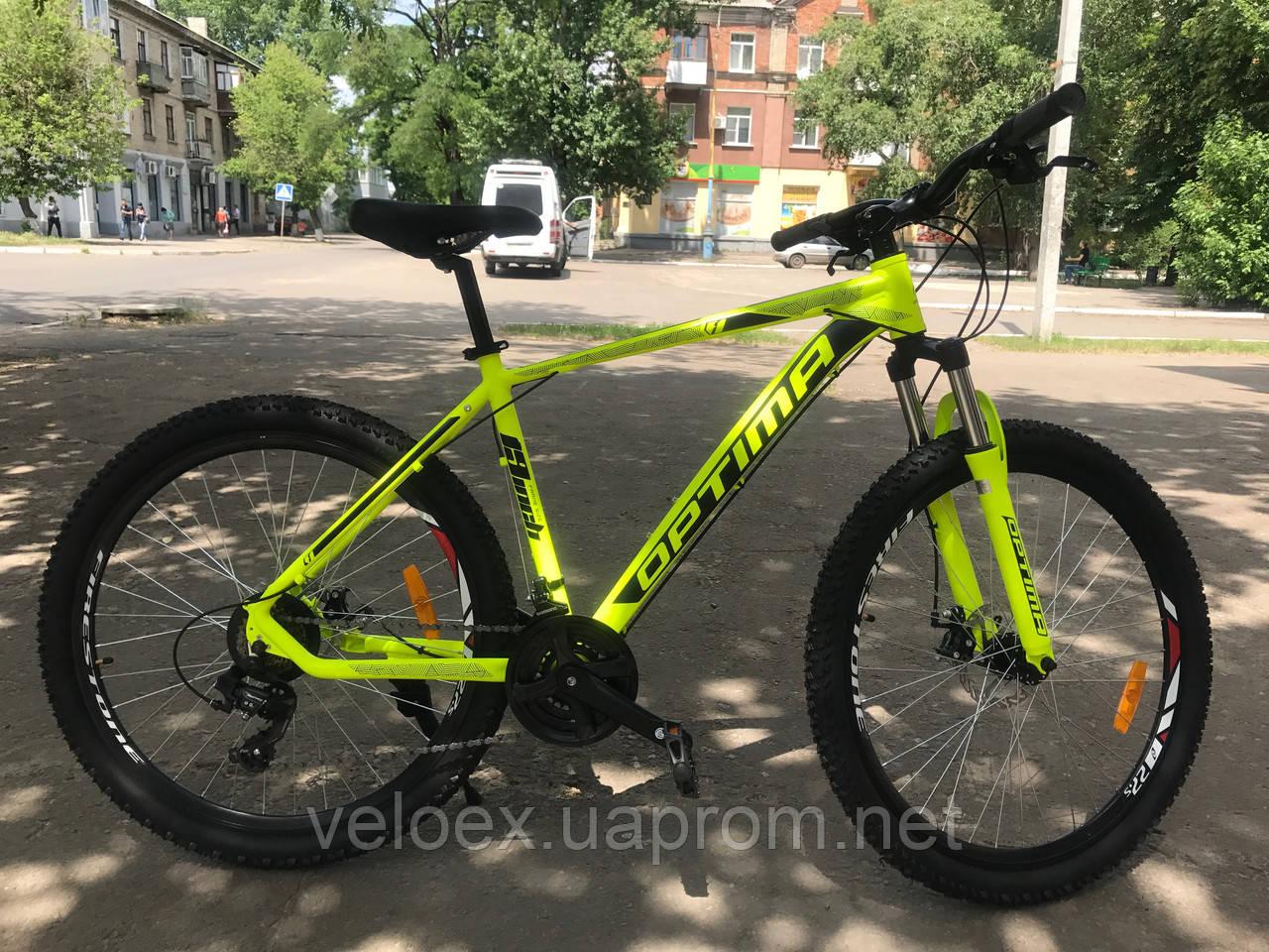 "Велосипед Optimabikes F-1 DD 29"" лайм"
