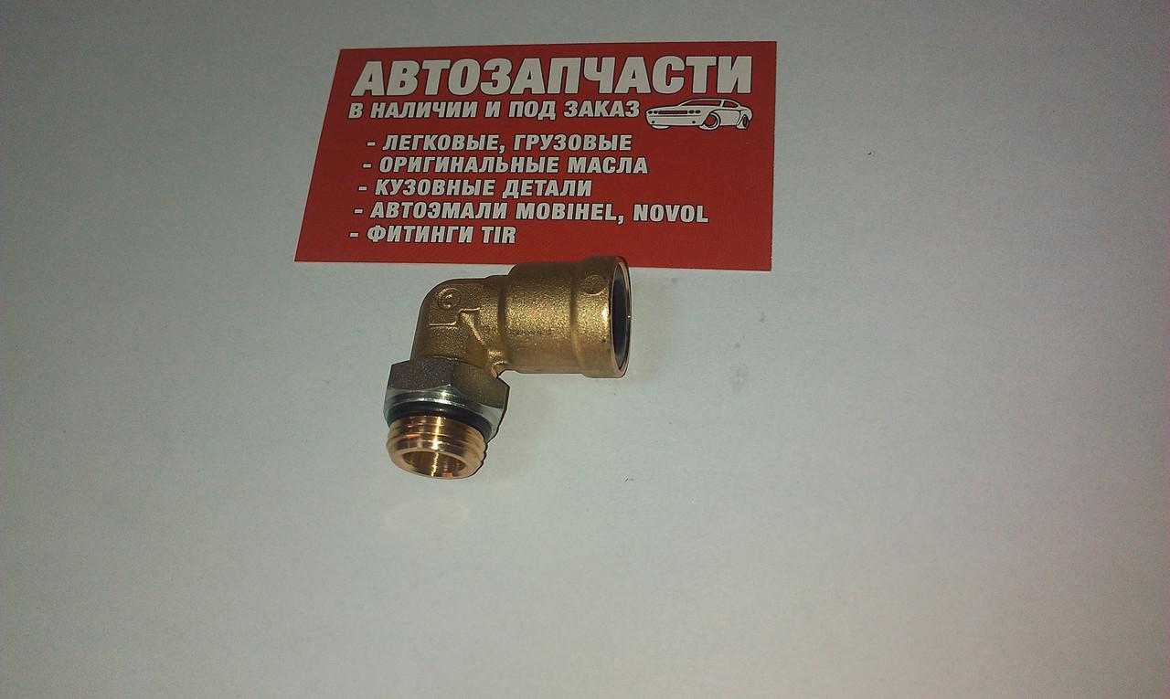 Фитинг пневматический угловой (спасатель) М16х1.5 - Д=12 пр-во Camozzi