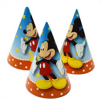 Колпак для вечеринки Микки Маус 15 см