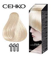 C:EHKO Крем-краска для волос №111 сапфир