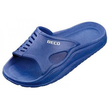 Тапочки детские BECO 9241 6 синий, фото 2