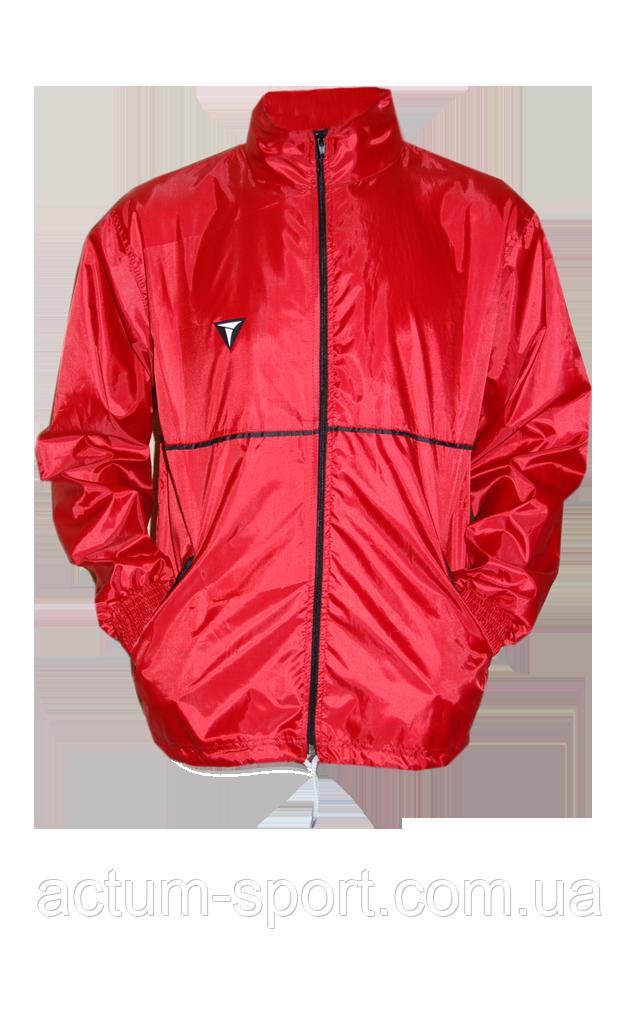 Ветровка утепленная с капюшоном Titar красная Красный, S