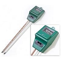 Измеритель кислотности pH грунта (влажности, освещенности) 3 в 1