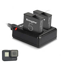 Зарядное устройство для двух аккумуляторов GoPro 5/ 6/ 7, фото 3