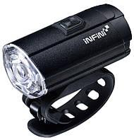 Мигалка передняя INFINI TRON 300 люмен, диод 3 Watt White LED, чёрный корпус, 6 режимов
