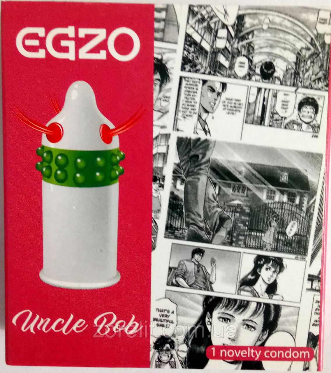 Презервативи EGZO Uncle Bob