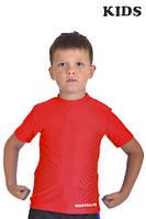 Футболка компресійна BERSERK MARTIAL FIT KIDS red, фото 1