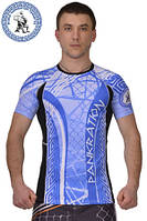 Рашгард Pankration BERSERK 3D APPROVED WPC blue, фото 1