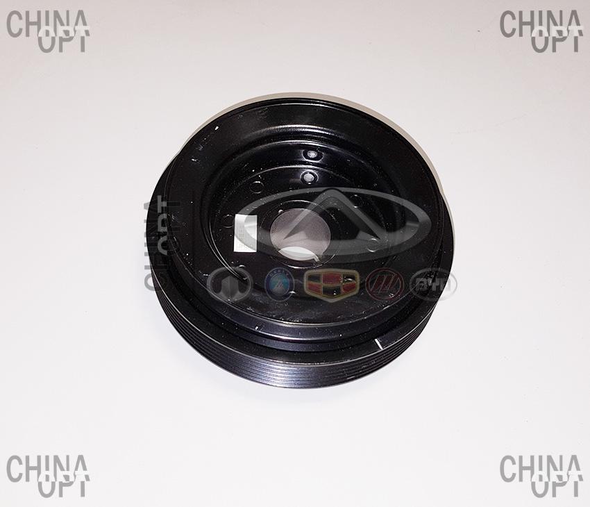 Шкив коленвала, 480EF, 477F, Chery Karry [A18,1.6], A11-1005210, Original parts