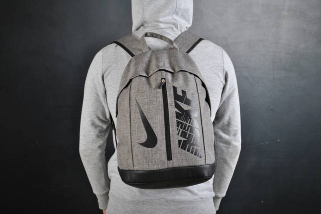 Молодежный рюкзак В стиле Nike / серый, фото 2