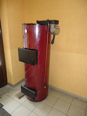 Отопительный твердотопливный котел Плюс Терм 52 киловатт, фото 2
